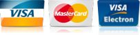 Image of credit card logos